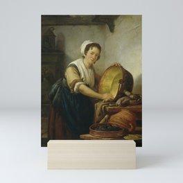 The Caldron Scrubber, Abraham van Strij (I), 1808 - 1810 Mini Art Print
