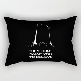 They Don't Want You to Believe - Phoenix Lights Rectangular Pillow