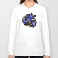 iris Long Sleeve T-shirts featuring Iris by Artemio Studio