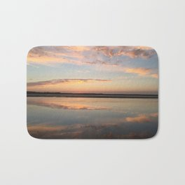 Tillamook Bay, Oregon Sunset Bath Mat