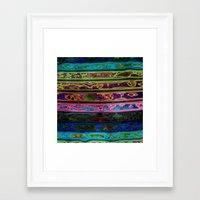 coachella Framed Art Prints featuring Coachella by RingWaveArt