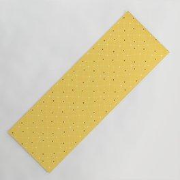 Chemistry Class Doodles - Yellow Yoga Mat