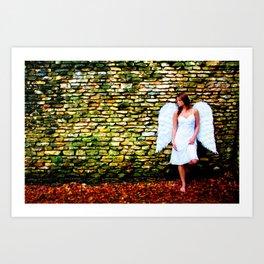 """""""Angel Among Us, image 4"""" Art Print"""