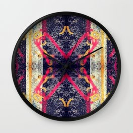 city street series, #1 Wall Clock