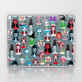 Spooky Dolls Laptop & iPad Skin