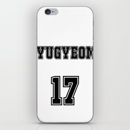 GOT7 YUGYEOM 17 iPhone Skin