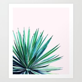 Agave Love #society6 #decor #buyart Art Print