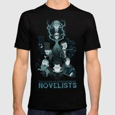 Extraordinary Novelists Black Mens Fitted Tee 2X-LARGE