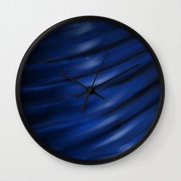 Blue Blur Wall Clock