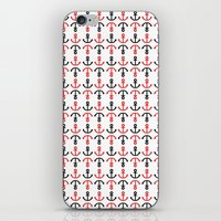 anchors iPhone & iPod Skins featuring Anchors by JeseniaRosadoNieves