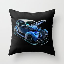1939 Ford Coupe By Annie Zeno Throw Pillow