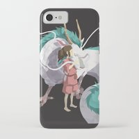 spirited away iPhone & iPod Cases featuring Spirited Away by Sharna Myers