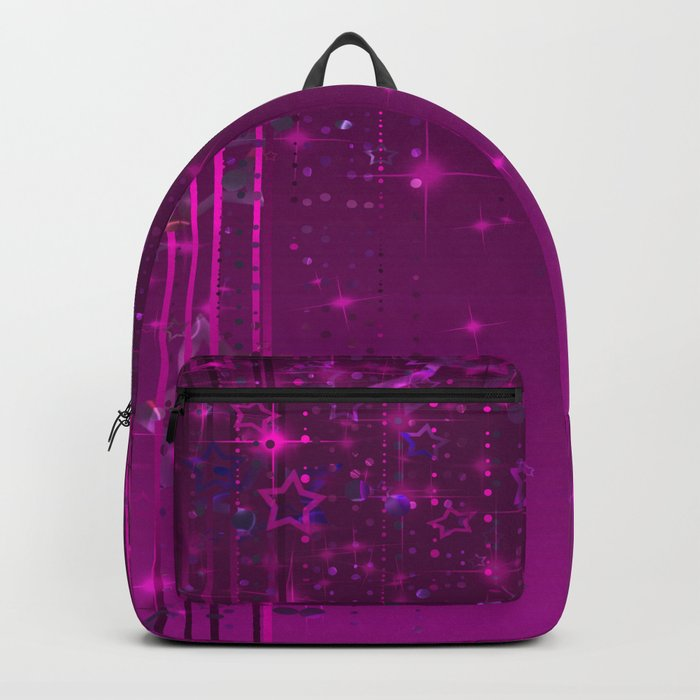Purple rain . Backpack