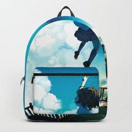 Girl Original Artwork Backpack