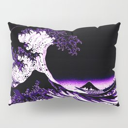 The Great Wave : Purple Pillow Sham