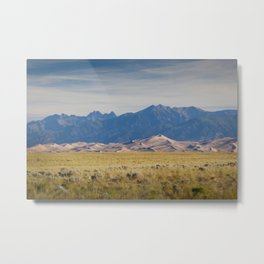 Great Sand Dunes 2 Metal Print