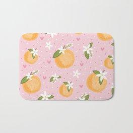Orange Blossom Special Bath Mat