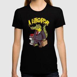 Alitigator - A Litigator - Funny Lawyer Judge Gift T-shirt