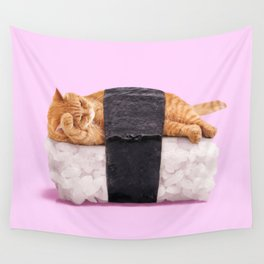 SUSHICAT Wall Tapestry