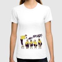 "karu kara T-shirts featuring "" I WON'T ACT MY AGE NO "" by Karu Kara"