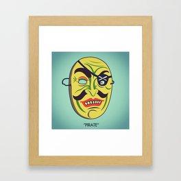 """Pirate"" Framed Art Print"