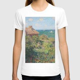 Fisherman's Cottage at Varengeville by Claude Monet T-shirt