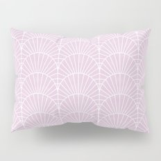 Art Deco Lavender Fields by Friztin Pillow Sham