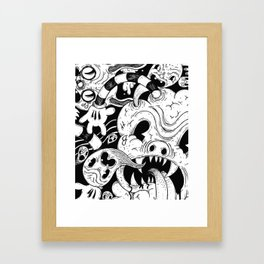 More and more Junk Framed Art Print