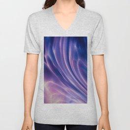 Violet Shell Unisex V-Neck