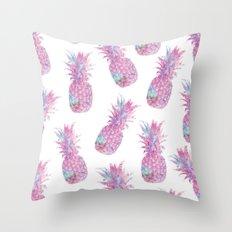 Pineapple Story Throw Pillow