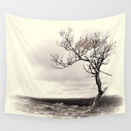 Lonely Tree #5 Wall Tapestry