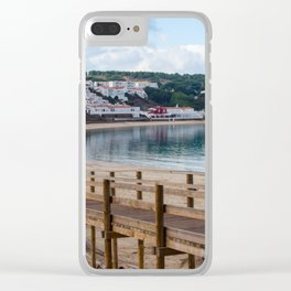 Arenal d'en Castell Clear iPhone Case