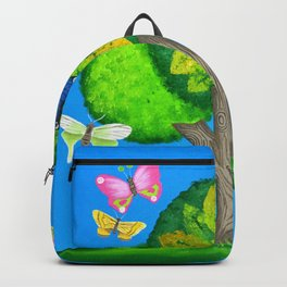 Butterflies refuge Backpack
