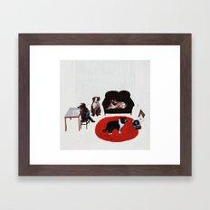 Damn Dogs Framed Art Print