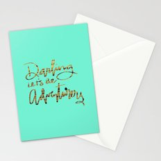 Darling Let's Be Adventurers Stationery Cards