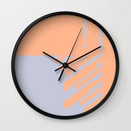 color vibration study Wall Clock