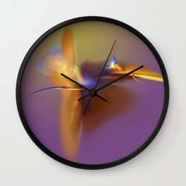 dancing angle Wall Clock