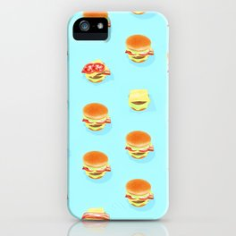 Bounce Burger iPhone Case