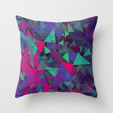 Uncontrollable excitement Throw Pillow