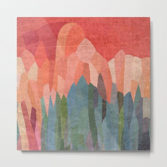 Red Hills Metal Print