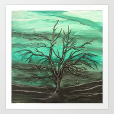 Last Leaves Art Print