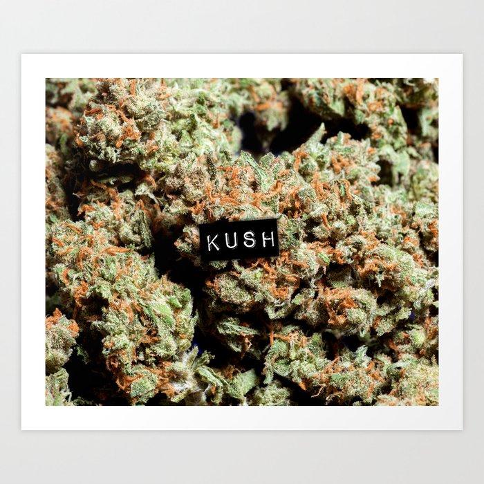 Kush Art Print