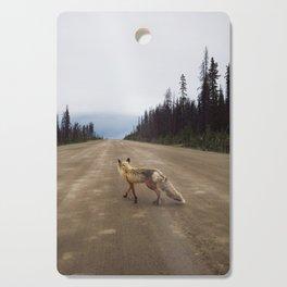 Road Fox Cutting Board