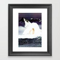 Bluff Framed Art Print