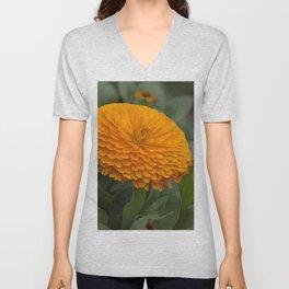 Calendula Flower Unisex V-Neck
