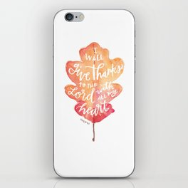 Autumn Leaves | Grace Falls Down iPhone Skin