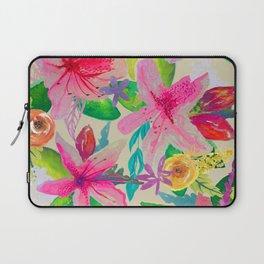 Azalea Garden // Natural Laptop Sleeve