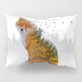 Wild I Shall Stay | Fox Pillow Sham