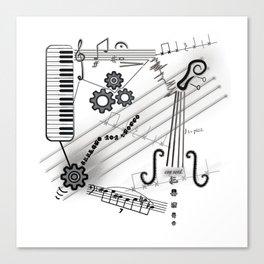 Musical Masterpiece Canvas Print