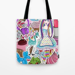 Candy Pop World Tote Bag